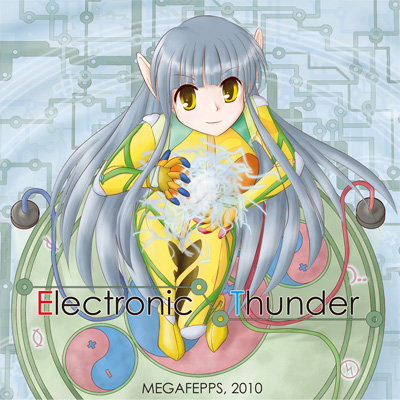 Jacket : Electronic Thunder